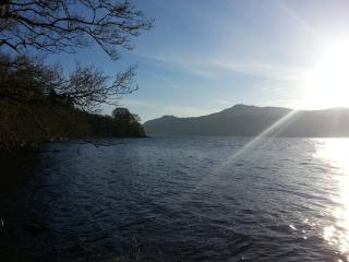 Foyers Bay walk with lovely views of Loch Ness.
