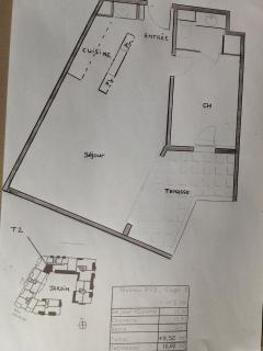 Plan of the appartment