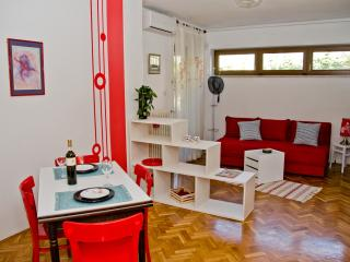 Comfortable apartment with shady terrace, Zadar