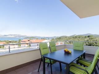 Apartments Gusti - Four-Bedroom Apartment with Balcony adn Sea View, Peljesac Peninsula