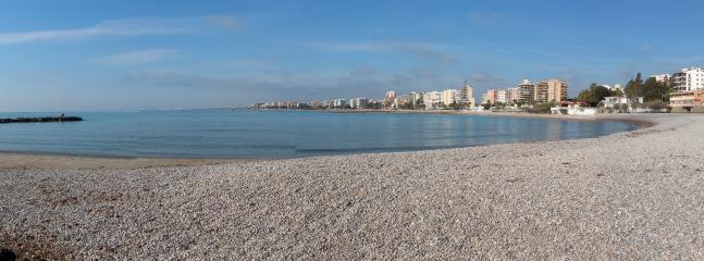 Playa Els Terrers frente el apartamento