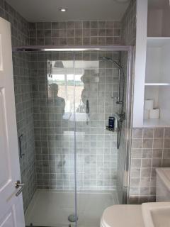 En suite shower to Master Bedroom
