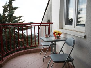 Apartment Rozata - Studio Apartment with Balcony and Sea View