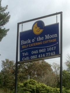 Sign on main road