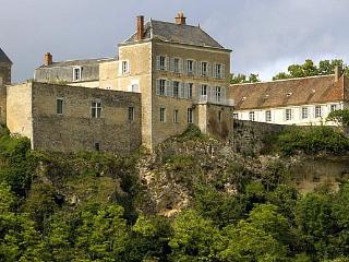 Chateau De Malley And Annexe, Grossouvre