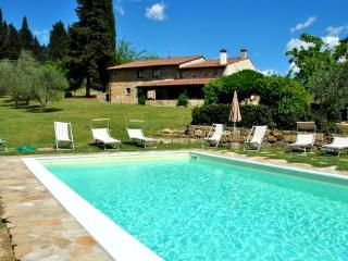 9 bedroom Villa in L'Opaco, Tuscany, Italy : ref 5475859
