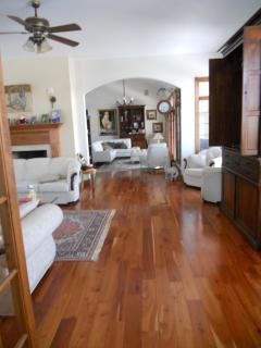 Another Living Area- Polished Floorboards, Stunning Room
