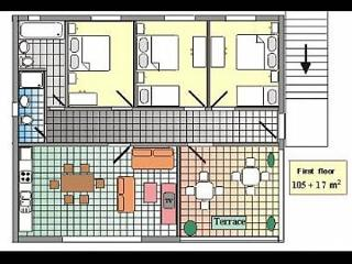 A1(8+1): floor plan