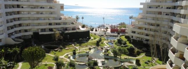 jardines y lagos aartificiales en benal beach