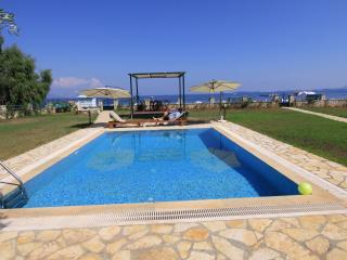 Beachfront Barbati villa