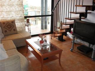 Beautiful duplex apartment with sea views, Pineda de Mar
