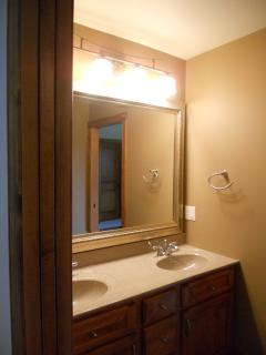 One of the Bathrooms- Vanity