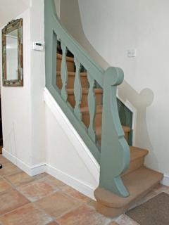 Ground floor Breton spiral staircase