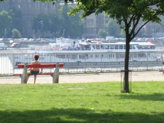 Budapest river park