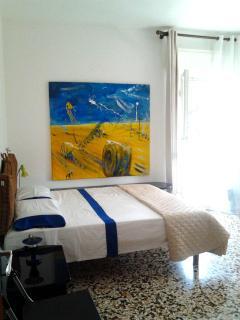 double room with door to the terrace