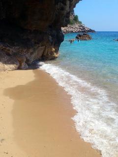 Beach 'Pasjaca', a 10 minute drive from Villa Grand Pinea