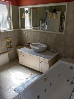 the bathroom  with the jaccuzi -   third floor