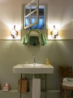 Salle de bain suite Jeanne d'Arc