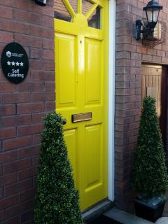 Once you've found the yellow door, you know you're about to experience some magic moments.
