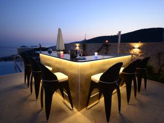 Party, Party, Party: Your very own glamorous, illuminated marble bar for sundowners & balmy evenings