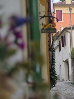 La Casetta in uno dei borghi più caratteristici di Valdobbiadene... la Cordana.