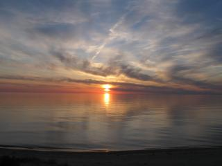 Lake Michigan Beachfront, Sunsets!, Manistee