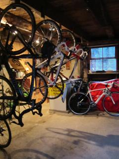 Secure barn for bikes