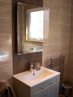 Main Bathroom, with bath and separate shower