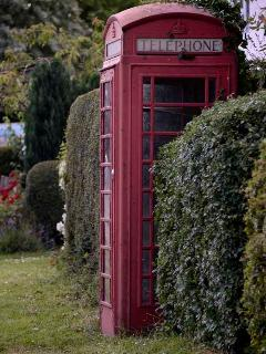 Local red telephone box!