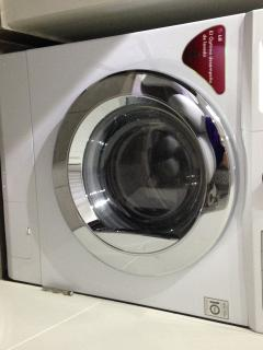 Washer and dryer at the apartment