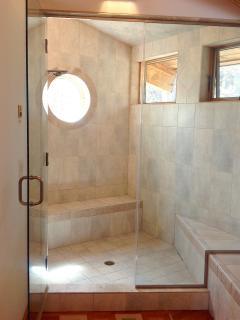 Steam Shower in master bath