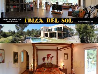 VILLA at CALA JONDAL (Villa Can Jondal-Kos) + POOL, Sant Josep de Sa Talaia
