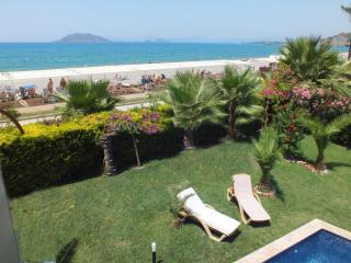 ON the beach, Full sea views,near Shops & Airport, Fethiye