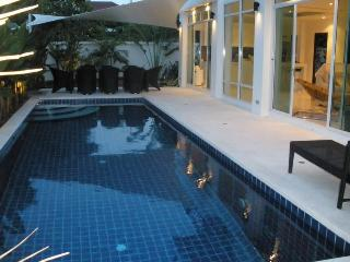 Large family pool and lounge / dining area- well maintained