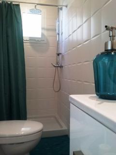 Segundo baño con moderna ducha