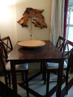 Dining Table and Local Art