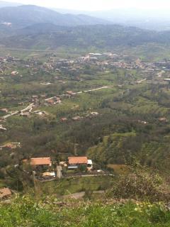 il panorama che si vede dal terrazzo di casa!...che pace!!...