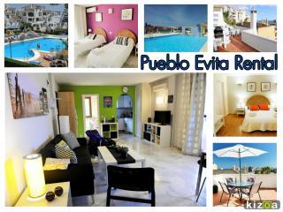 Evita Estates excelente 2 dormitorio apto en Pueblo Evita, Benalmadena