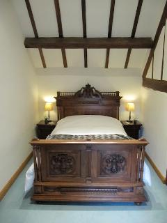 Master Bedroom with antique Louis XVI double bed