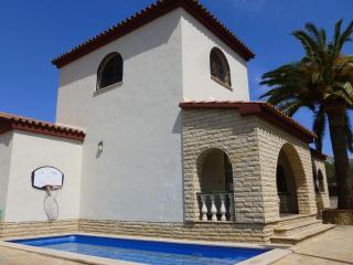 Magnífica Villa con piscina privada, cerca de playa, Cambrils