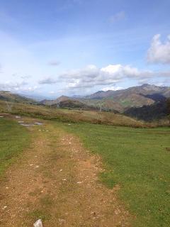 De ruta por el monte.