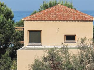 Villa d'architecte en bois  piscine & plage, Porticcio