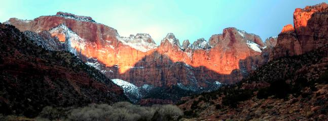 Zion is a place to recharge your spiritual batteries