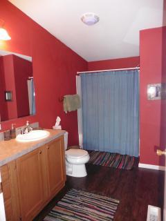 Master bath and laundry room