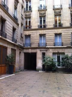 Apartment is in second courtyard. Absolute quiet