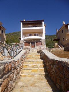The newly built detached villa