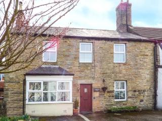 CHERRY TREE HOUSE, terraced, open fires, pet-friendly, garden, near Allendale, R