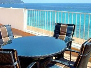 Nice roof terrace apartment verde  with sea view, Cala Millor