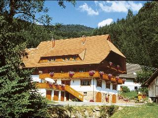 Vacation Apartment in Oberharmersbach - 269 sqft, 1 living room / bedroom, max. 2 People (# 7429)