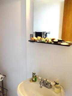 Guest half bathroom